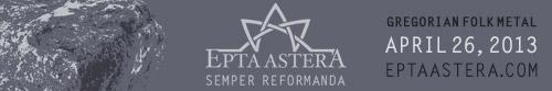 Epta Astera: New album SALIGIA coming May 25 at www.eptaastera.com